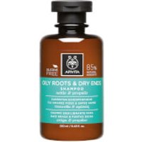 APIVITA Holistic Hair Care Oily Roots & Dry Ends Shampoo - Nettle & Propolis 250ml