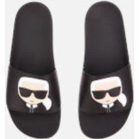 Karl Lagerfeld Karl Lagerfeld Men's Kondo Karl Ikonik Slide Sandals - Black - UK 6