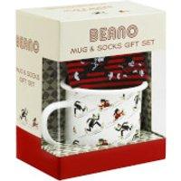 Beano Enamel Mug and Socks Gift Set - Beano Gifts