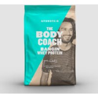 The Body Coach Bangin' Whey Protein - 1kg - Salted Caramel