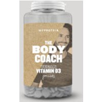 The Body Coach Vegan Vitamin D3 - 180tablets - Unflavoured