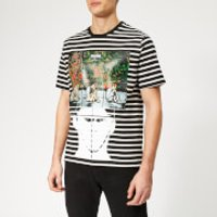 JW Anderson Men's G+G Police T-Shirt - Black - XL - Black