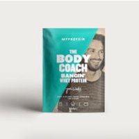 The Body Coach Bangin' Whey Protein (Sample) - 25g - Chocolate Brownie