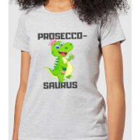 Be My Pretty Prosecco-Saurus Women's T-Shirt - Grey - XXL - Grey