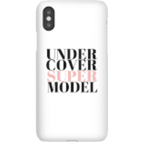 Be My Pretty Under Cover Super Model Phone Case for iPhone and Android - iPhone X - Tough Case - Glo