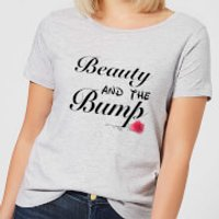 Big and Beautiful Beauty and The Bump Women's T-Shirt - Grey - XS - Grey