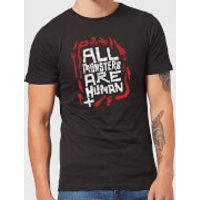 American Horror Story All Monsters Are Human Tools Men's T-Shirt - Black - 5XL - Black - Tools Gifts