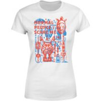 American Horror Story  Freakhouse Tools Women's T-Shirt - White - XXL - White - Tools Gifts