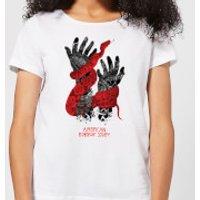 American Horror Story Snake Hands Women's T-Shirt - White - XS - White - Snake Gifts