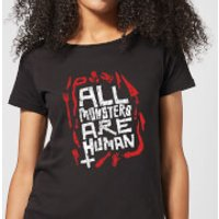 American Horror Story All Monsters Are Human Tools Women's T-Shirt - Black - 5XL - Black - Tools Gifts