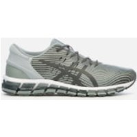 Asics Men's Lifestyle Gel Quantum 360 4 Trainers - Stone Grey/Dark Grey - UK 11 - Grey