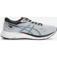 Asics Men's Running Gel-Excite 6 Trainers - Mid Grey/Electric Blue - UK 9 - Grey