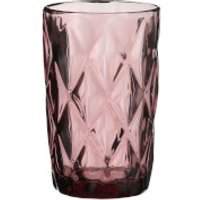 Boulogne Long Glass Tumbler - Purple - Purple Gifts
