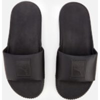 Puma Women's Platform Slide Sandals - Puma Black/Puma Black - UK 6 - Black