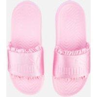 Puma Women's Popcat Silk Slide Sandals - Pale Pink/Pale Pink - UK 3 - Pink