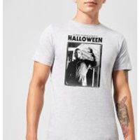 Halloween Framed Mike Myers Men's T-Shirt - Grey - M - Grey