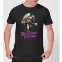 Camiseta Chucky Tiffanys Have More Fun - Hombre - Negro - L - Negro