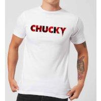 Camiseta Chucky Logo - Hombre - Blanco - M - Blanco