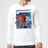 Sudadera Chucky Nasty 90's - Hombre - Blanco - XXL - Blanco