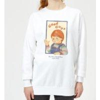 Sudadera Chucky Good Guys Retro - Mujer - Blanco - XL - Blanco