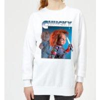 Sudadera Chucky Nasty 90's - Mujer - Blanco - M - Blanco