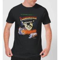 Universal Monsters Frankenstein Vintage Poster Men's T-Shirt - Black - 5XL - Black