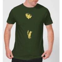 Universal Monsters Frankenstein Illustrated Men's T-Shirt - Forest Green - XXL - Forest Green