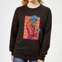 Universal Monsters Invisible Man Retro Women's Sweatshirt - Black - M - Black