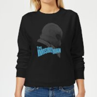 Universal Monsters The Invisible Man Greyscale Women's Sweatshirt - Black - S - Black