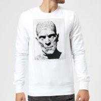 Universal Monsters The Mummy Portrait Sweatshirt - White - M - White