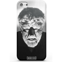 Universal Monsters The Wolfman Classic Phone Case for iPhone and Android - iPhone 8 - Snap Case - Gl
