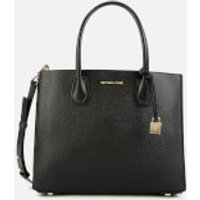 MICHAEL MICHAEL KORS Womens Mercer Accordion Tote Bag - Black