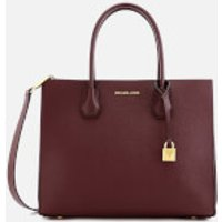 MICHAEL MICHAEL KORS Womens Mercer Accordion Tote Bag - Oxblood