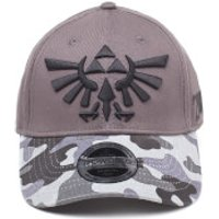 Nintendo The Legend of Zelda Tri-Force Logo Camouflage Cap - Grey - Camouflage Gifts