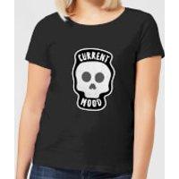 Halloween Current Mood Women's T-Shirt - Black - XS - Black - Halloween Gifts