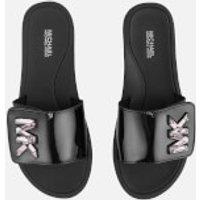 MICHAEL MICHAEL KORS Women's MK Slide Sandals - Black - UK 6/US 9 - Black
