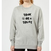 Trick or Treat Women's Sweatshirt - Grey - 4XL - Grey