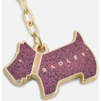 Radley Women's Glitter Pageant Keyring - Port Glitter