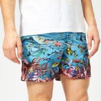 Orlebar Brown Men's Bulldog GW Swim Shorts - Reef Scene - M - Multi