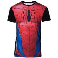 Marvel Spider-Man Men's Sublimation T-Shirt - Red - M - Red