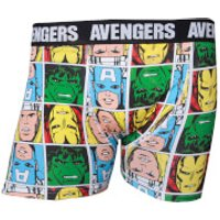 Marvel Avengers Men's Characters Boxers - Black - XL - Black - Boxers Gifts