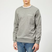 Calvin Klein Jeans Men's Institutional Back Logo Sweatshirt - Grey Heather - XL - Grey