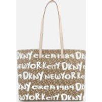 Dkny Brayden Large Reversible Tote Bag - Cream