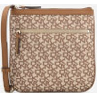 Dkny Casey Zip Cross Body Bag - Cream