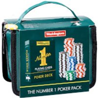 Waddingtons Number 1 Playing Cards - Poker Travel Set Edition - Poker Gifts