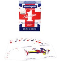 Waddingtons No. 1 Playing Cards - Union Jack - Playing Cards Gifts
