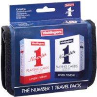 Waddingtons No. 1 Playing Cards - Bridge Travel set - Playing Cards Gifts