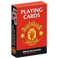 Waddingtons No. 1 Playing Cards - Man United - Playing Cards Gifts