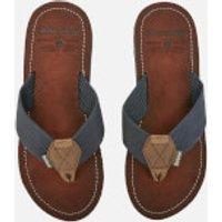 Barbour Men's Toeman Beach Toe Post Sandals - Navy - UK 10