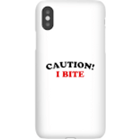 Caution! I Bite Phone Case for iPhone and Android - iPhone 6S - Snap Case - Matte